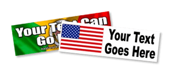 Heritage Flag Bumper Stickers
