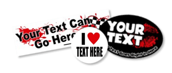 I (Heart) Love Bumper Stickers