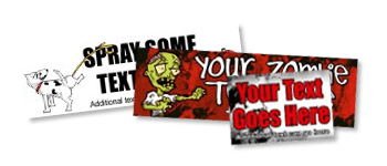 Novelty and Funny Bumper Stickers